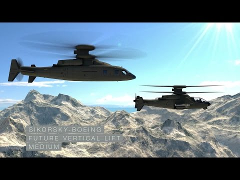 Sikorsky - Boeing Future Vertical Lift: The Way Forward © LockheedMartinVideos