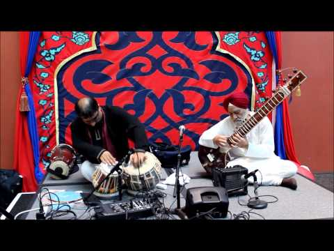Tabla Drummer and Sitar Player