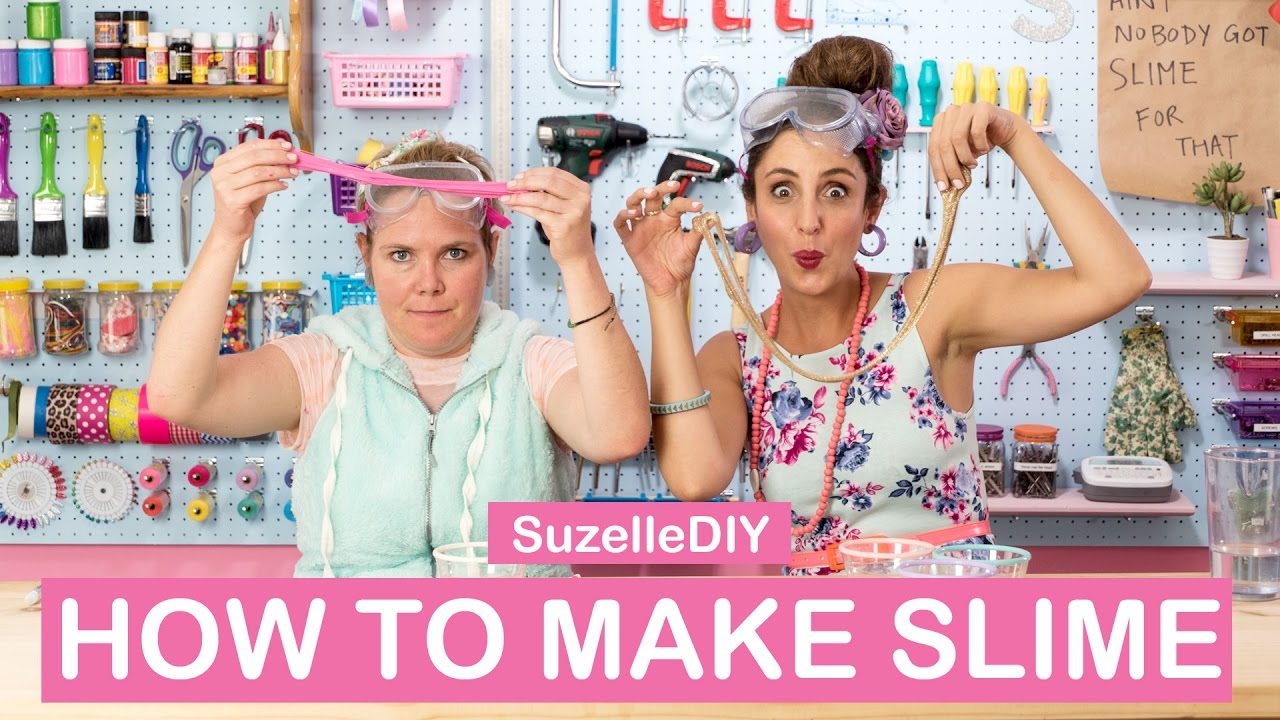 How to Make Slime-graphic