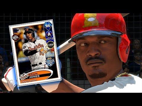 DIAMOND ADAM JONES DEBUT!! MLB THE SHOW 18 DIAMOND DYNASTY