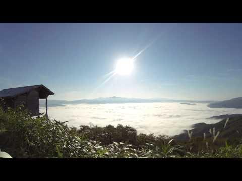 タイムラプス 雲海 遠野 高清水