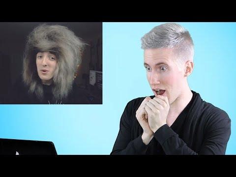 HAIRDRESSER REACTS TO EMO/SCENE HAIR TUTORIALS!  socialrepose