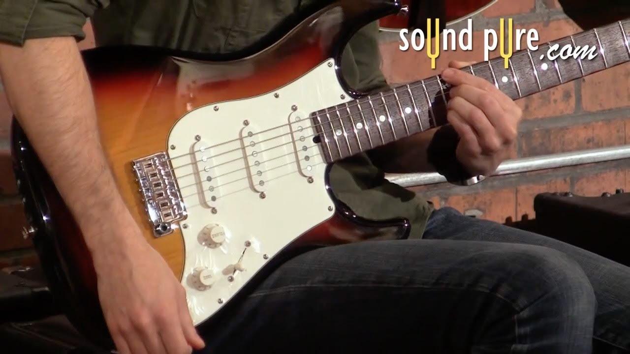 Single Coil Pickups vs. Humbucker pickups in Electric Guitars Demo Video