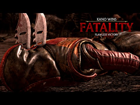 "MORTAL KOMBAT X · Kano ""Knife To Meet You"" Fatality [HD] 60fps 