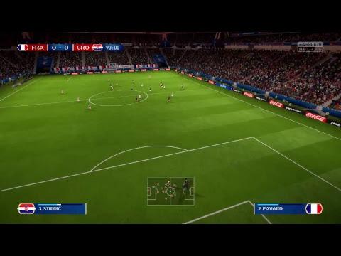 FIFA World Cup 2018 (France vs Croatia ) Final