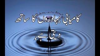 Secret of success quotes in urdu|life success quotes in urdu|urdu poetry about success|Golden Wordz