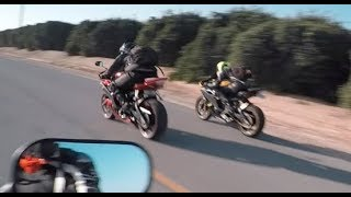 7. 2007 R6 vs 2008 R6! All generations of Yamaha r6's!