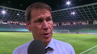 NK Domzale 1-1 OM : la réaction de Rudi Garcia.