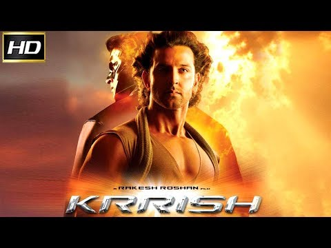 Krrish 2006 - Action Movie | Hrithik Roshan, Priyanka Chopra, Naseeruddin Shah, Rekha.