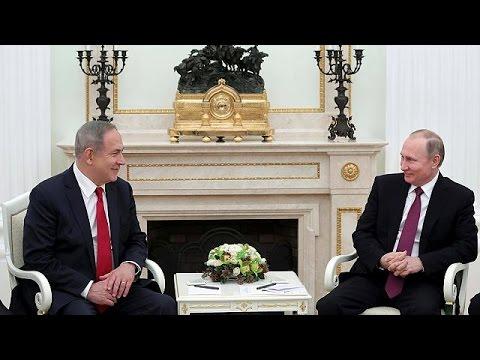 Ρωσία: Συνάντηση Πούτιν-Νετανιάχου στο Κρεμλίνο