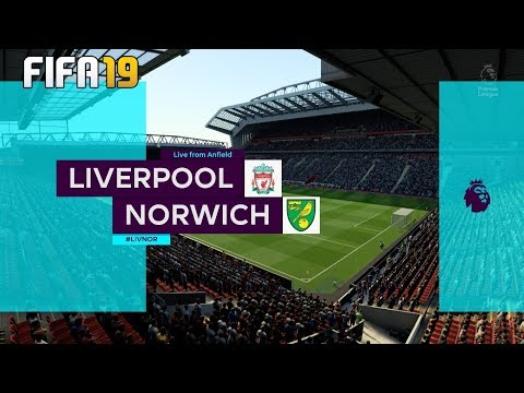 Liverpool Vs Norwich City ! FIFA 19 I 10/08/2019 ! English Premier League 2019/20!