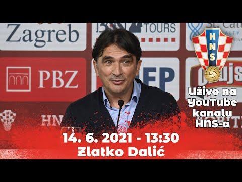 Konferencija za medije (Dalić) 14.06.2021. 13:30 Rovinj