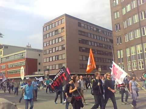 Demonstration against TTIP and CETA in Hamburg