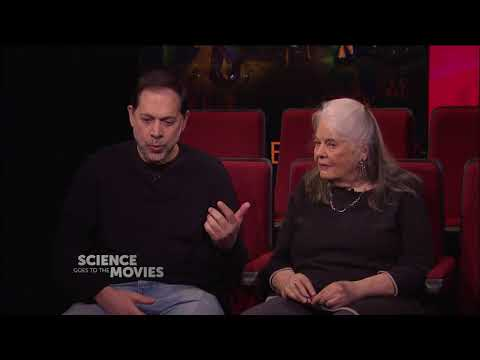 """Actress Lois Smith and NYU Computer Scientist Ken Perlin talk """"computer time"""""""