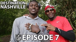 A.J. Brown Runs the Hill with Jerry Rice & Greedy Goes Back to LSU with Tyrann Mathieu by NFL Network