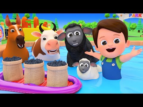 Baa Baa Black Sheep Nursery Rhymes With Farm Animals