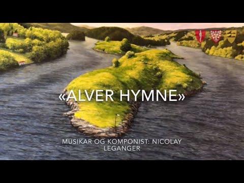Urfrermføring av Alver-hymna av og med Nicolay Leganger