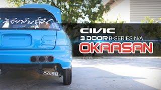 Download Lagu Civic 3 Door B-Series N/A ที่แรงที่สุดในประเทศไทยจากทีม OKAASAN Mp3