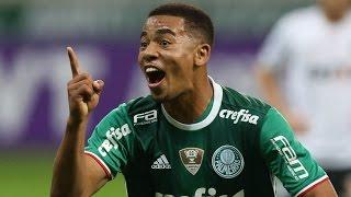 Moisés, Dudu e Gabriel Jesus (2) marcaram os gols da vitória que deixou o Verdão na liderança isolada do Brasileiro.