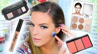 TRYING NEW MAKEUP PRODUCTS! 6 First Impressions & Demo | Casey Holmes by Casey Holmes