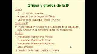 Umh1909 2012-13 Lec008 La Incapacidad Permanente (1/4)