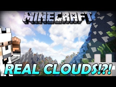 REALISTIC CLOUDS 1.7.2 - 1.7.5! (Sonic Ether's Unbelievable Shaders) Review and tutorial (видео)