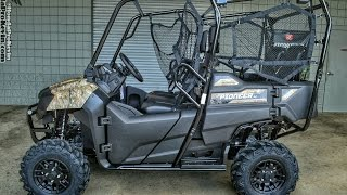 1. 2017 Honda Pioneer 700-4 Deluxe Walk-Around Video | Phantom Camo | Review @ HondaProKevin.com