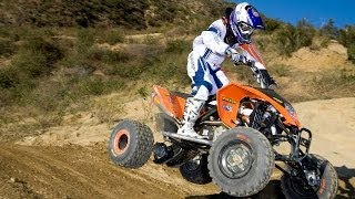 4. 2009 KTM 450 SX ATV Review - MotoUSA