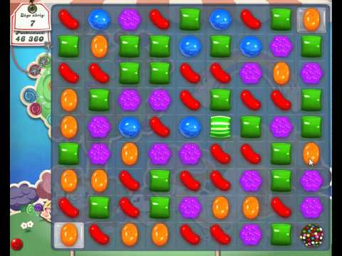 Candy Crush level 63 - Candy Crush Saga Level 63 - gespielt von http