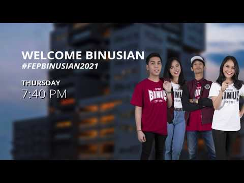 WELCOME BINUSIAN 2021