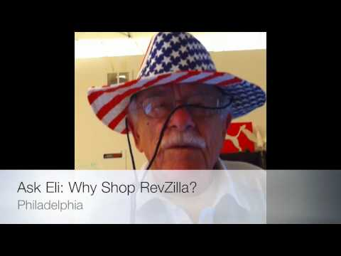RevZillaTV - Eli is 81. Eli is our landlord. He should be famous.