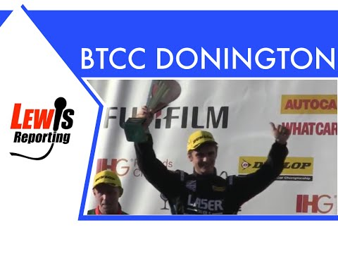 Aiden Moffat - Laser Tools Racing - BTCC Donington Park 2016