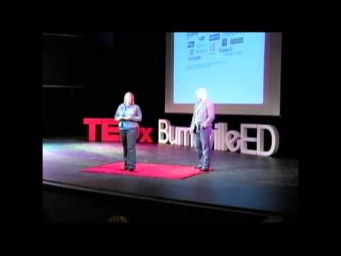 Challenge based learning: Andi Bodeau and Ryan Semans at TEDxBurnsvilleED