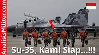 Video Sambut Jet Tempur SU-35, Militer Indonesia Kirim Pilot dan Teknisi Ke Rusia MP3, 3GP, MP4, WEBM, AVI, FLV Juli 2018