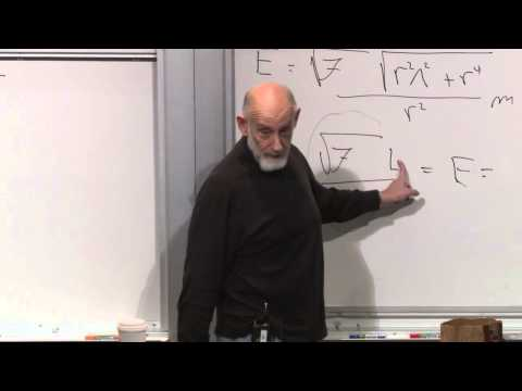 General Relativity - (October 29, 2012) Leonard Susskind presents the physics of black holes including the event horizon, the photon sphere, and the singularity. This series is t...