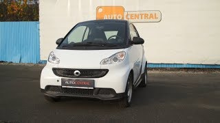 Smart Fortwo II. Coupe 1,0i  MHD, 45kW,  r.v. 2012