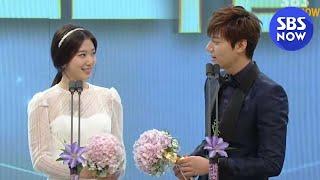 Download Video SBS [2013연기대상] - 베스트 커플상(이민호,박신혜) MP3 3GP MP4
