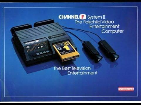 Fairchild Channel F   Великие игровые консоли