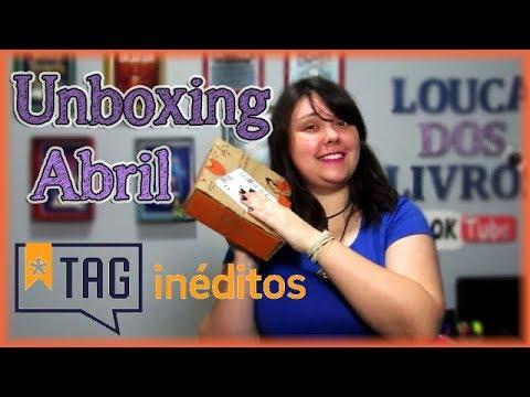 UNBOXING Tag inéditos - Abril | Louca dos livros 2018