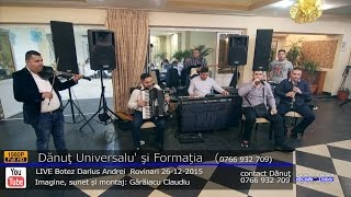 Download Lagu Danut Universalul - Program MANELE LIVE part.1 Botez Darius Andrei 26-12-2015 Mp3