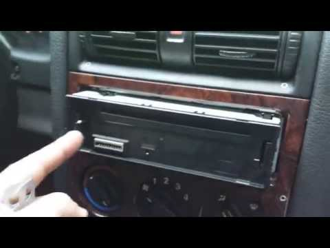 how to remove sony cd player from car