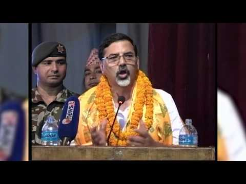 (गृहमन्त्री जनार्दन शर्मा (प्रभाकर)लाई लोक-दोहोरी प्रती को माया ...8 min, 11 sec.)