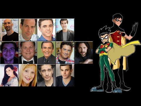 robin - I'd like to point out that this is a video voice comparison of Robin (Dick Grayson) not Tim Drake, not Jason Todd, not Damian Wayne; Those are videos for ano...