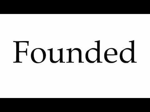 How to Pronounce Founded