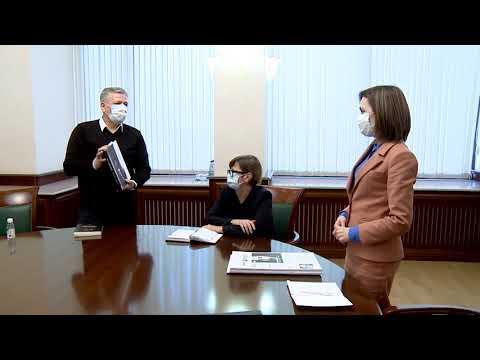 Președintele Maia Sandu s-a întâlnit cu reprezentanții Uniunii Scriitorilor din Moldova