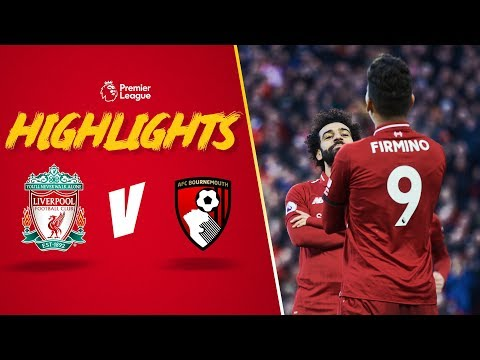 Video: Firmino's outrageous assist for Salah   Liverpool 3-0 Bournemouth   Highlights