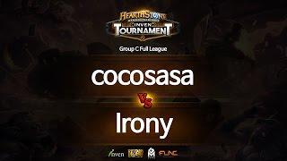 하스스톤 인벤 토너먼트 3회 7라운드 cocosasa VS Irony