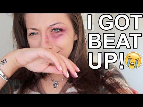 I GOT BEAT UP! PRANK ON BOYFRIEND!!! (видео)