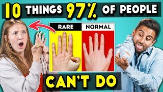 Video Adults Try 10 Things 97% Of People Can't Do | The 10s MP3, 3GP, MP4, WEBM, AVI, FLV Agustus 2019
