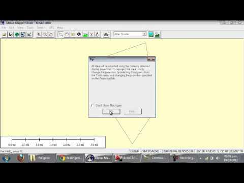 Convertir Archivos de KMZ o KML a DWG – de Google Earth a AutoCAD